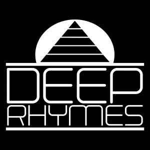 DEEP RHYMES logo white
