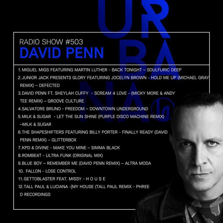 URBANA PODCAST 503 BY DAVID PENN
